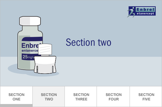 Section Two: Prepare the needle, vial, and adapter